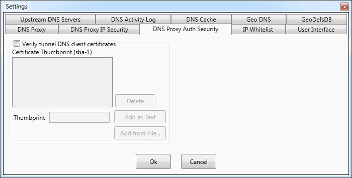 DNS Proxywall | Verigio Communications